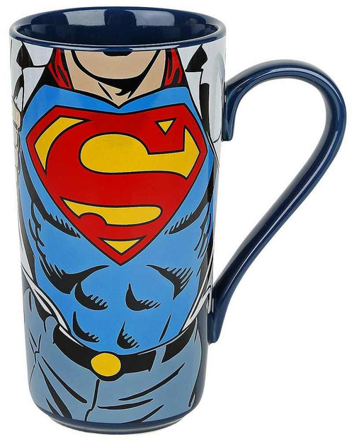 Superman Super Strength Latte Mug