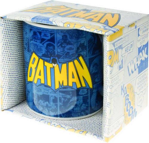 Batman Comic Strip Logo Coffee Mug