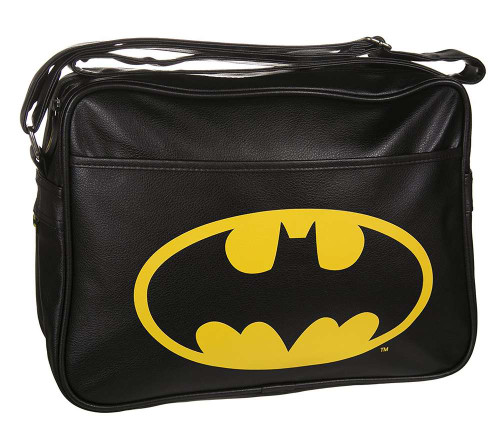 Batman Black Logo Shoulder Bag