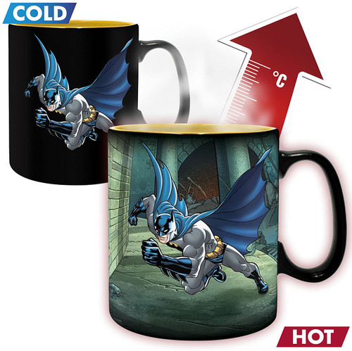 Batman & Joker Heat Changing Coffee Mug