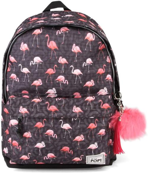 Oh My Pop Flamingo USB Backpack