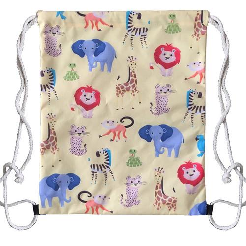 Zooniverse Childrens Drawstring Bag