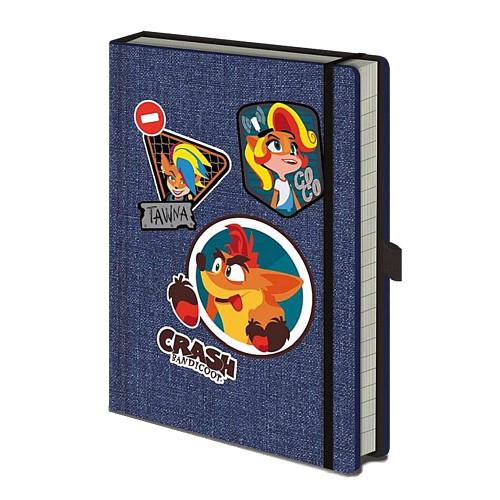 Crash Bandicoot Premium A5 Notebook