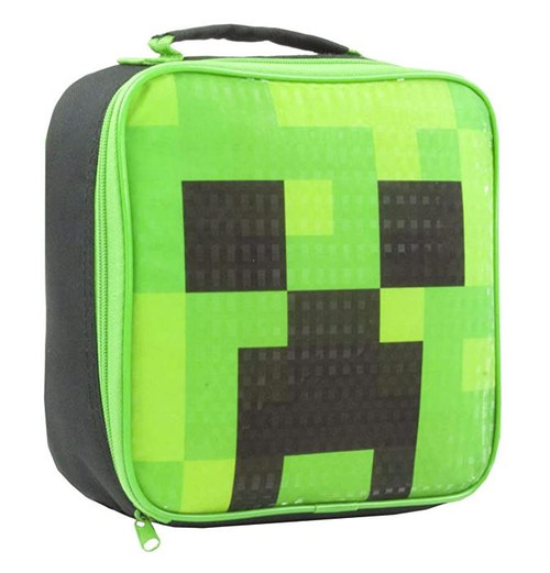 Minecraft Creeper Insulated Lunch Bag