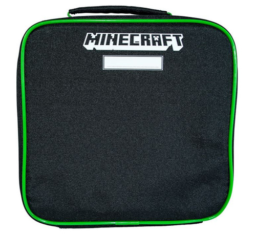 Minecraft Logo Insulated Lunch Bag