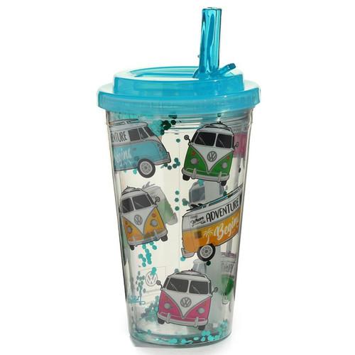 VW Campervan Surf Shatterproof Plastic Cup