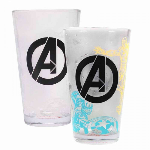 The Avengers Cold Changing Glass