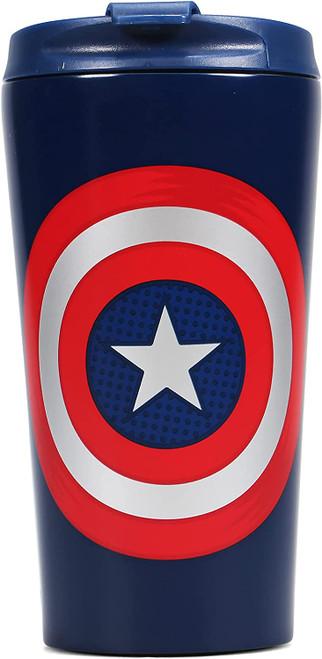 Captain America Metal Travel Mug