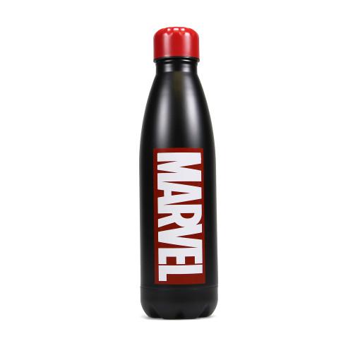 Marvel Logo Hot Cold Metal Drinks Bottle