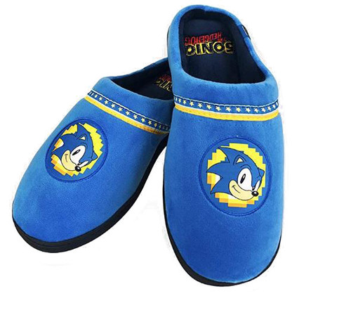 Sonic The Hedgehog Go Faster Slippers