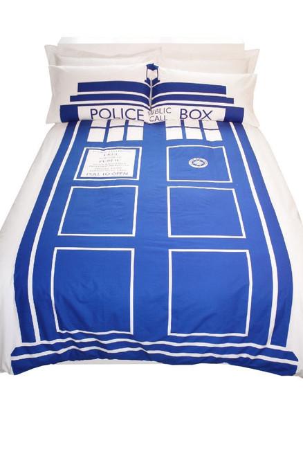 Doctor Who Tardis King Size Duvet Set