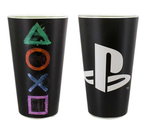 Sony Playstation Drinking Glass