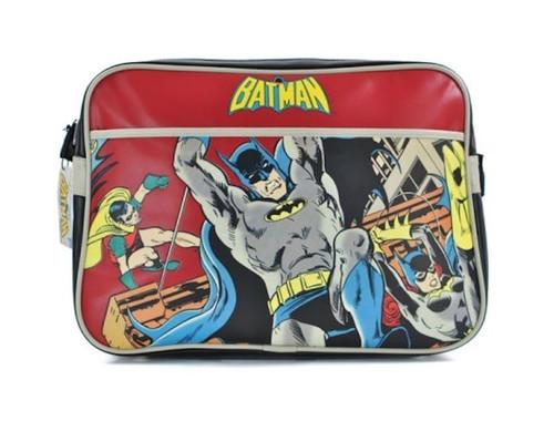 Batman and Robin Comics Red Shoulder Bag