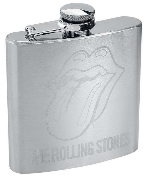 The Rolling Stones Hip Flask