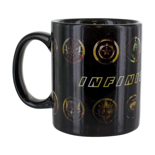 The Avengers Infinity War Heat Changing Mug