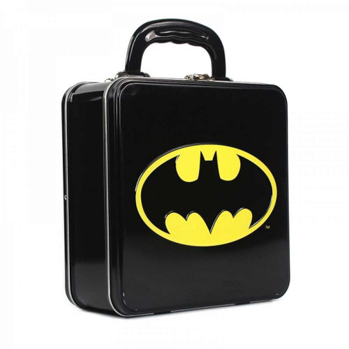 Batman Logo Square Lunch Tin
