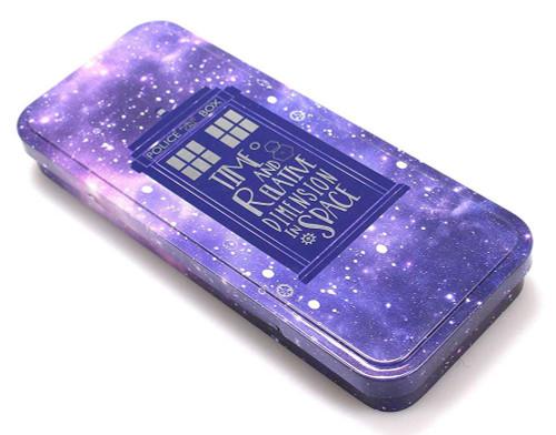 Doctor Who Glalaxy Tardis Pencil Tin