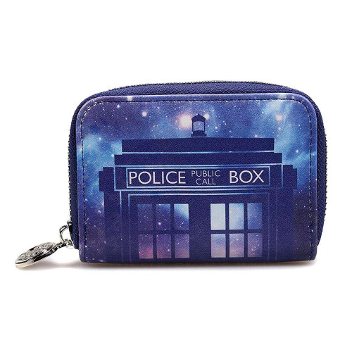 Doctor Who Glalaxy Tardis Purse