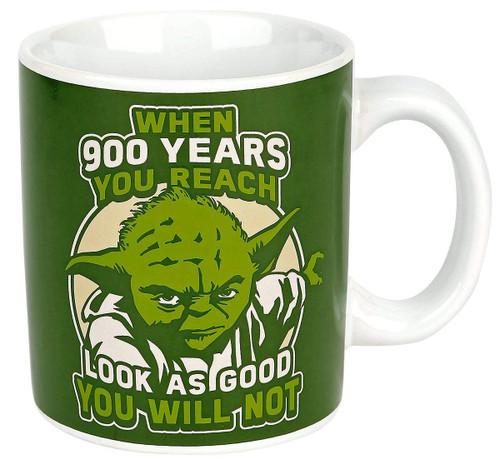 Star Wars Yoda Jedi Mug