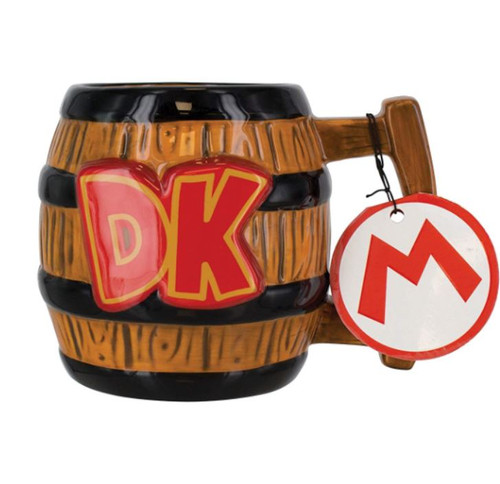 Donkey Kong Barrel Coffee Mug