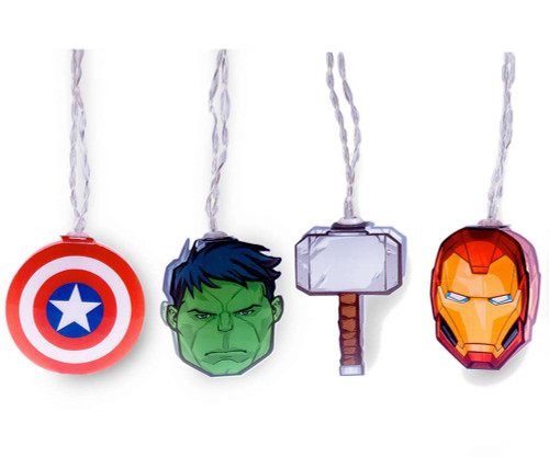 Avengers 2D Party String Lights