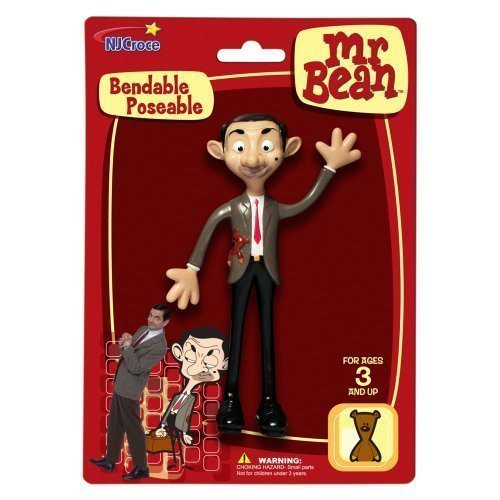 Mr Bean Bendable Toy