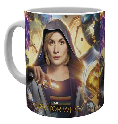 Doctor Who 13th Dr  Universe Calling Mug