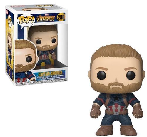 Captain America Funko POP 288 Figure
