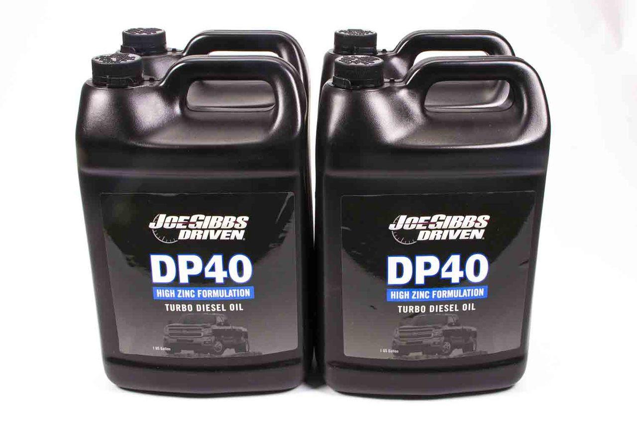 DP40 5w-40 Synthetic Diesel Oil Case of 4 - 1 Gallon Jugs JGP02508-12 Driven Racing Oil