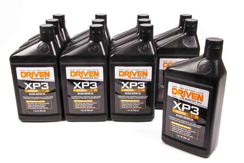 XP3 10w-30 Synthetic Racing Oil - Case of 12 Quarts JGP00306-12 Driven Racing Oil