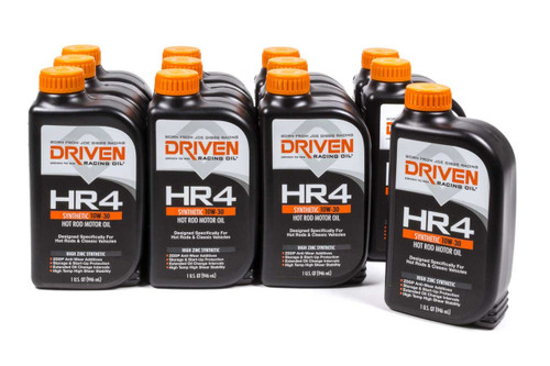 HR4 10w-30 Synthetic Oil - Case of 12 Quarts JGP01506-12 Driven Racing Oil