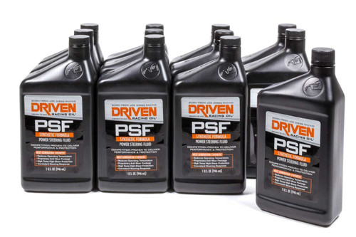 Power Steering Fluid Synthetic - Case of 12 JGP01306-12 Driven Racing Oil