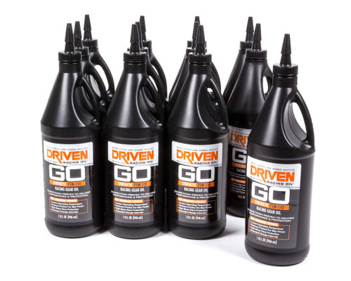 Gear Oil - 75w-110 Synthetic Racing Gear Oil - Case of 12 Quarts JGP00630-12 Driven Racing Oil