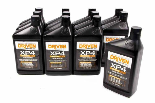 XP4 15W-50 Petroleum Racing Oil - Case of 12 Quarts JGP00506-12 Driven Racing Oil
