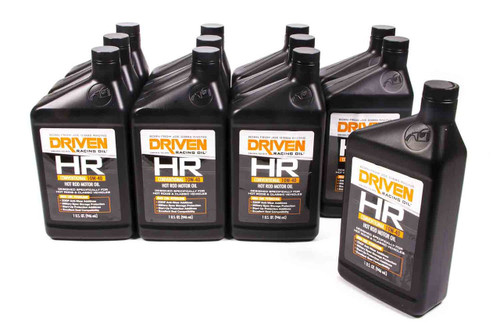 HR5 10w-40 Petroleum Oil - Case of 12 Quarts JGP03806-12 Driven Racing Oil