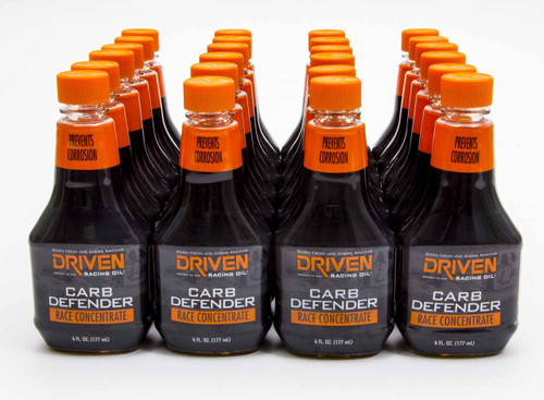 Carb Defender Race Concentrate Fuel Additive - Case of 24 6 oz Bottles JGP70044-24 Driven Racing Oil