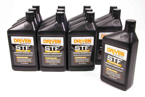 Syncromesh Transmission Fluid - STF - Case of 12 Quarts JGP04006-12 Driven Racing Oil