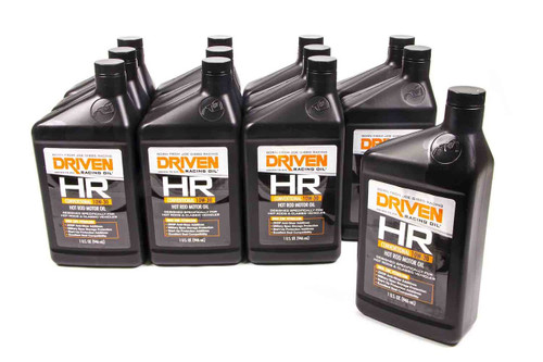 HR2 10w-30 Petroleum Oil - Case of 12 Quarts JGP02006-12 Driven Racing Oil