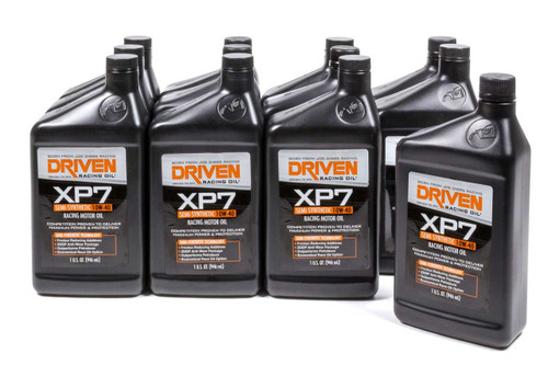XP7 10w-40 Semi-Synthetic Racing Oil - Case of 12 Quarts