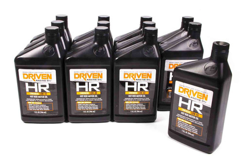 HR6 10w-40 Synthetic Oil - Case of 12 Quarts JGP03906-12 Driven Racing Oil