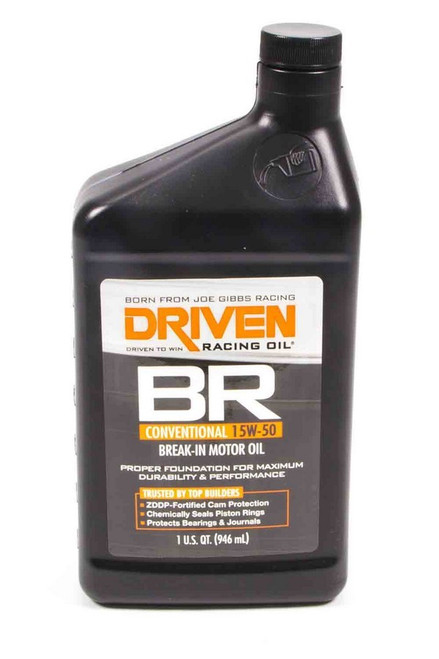BR 15w-50 Break-In Petroleum Oil JGP00106 Driven Racing Oil