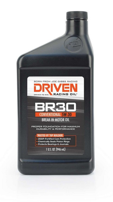 BR30 5w-30 Break-In Petroleum Oil JGP01806 Driven Racing Oil