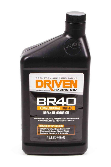 BR40 10w-40 Break-In Petroleum Oil JGP03706 Driven Racing Oil