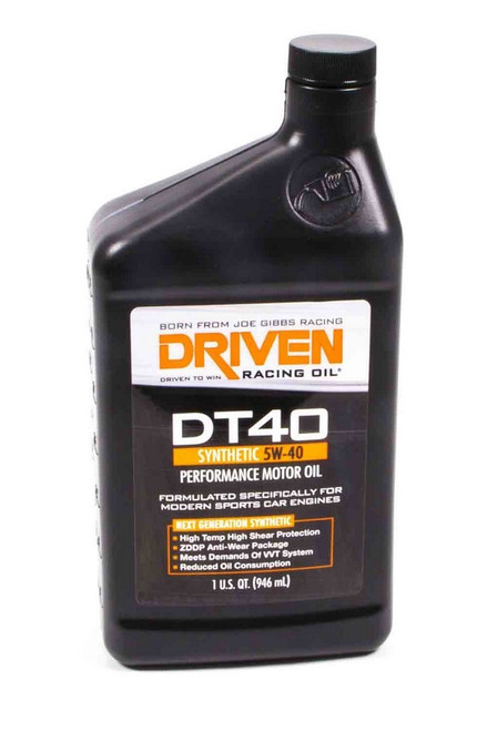 DT40 5w-40 Synthetic Oil JGP02406 Driven Racing Oil