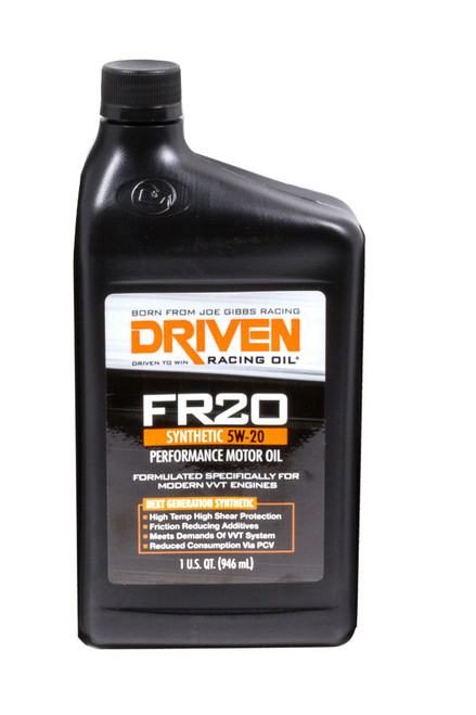 FR20 5w-20 Synthetic Oil JGP03006 Driven Racing Oil