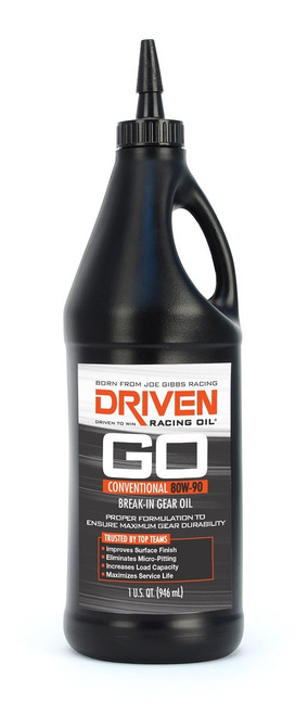 Gear Oil - 80w-90 Break-In Petroleum Gear Oil JGP02330 Driven Racing Oil