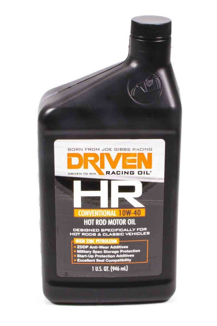 HR5 10w-40 Petroleum Oil JGP03806 Driven Racing Oil