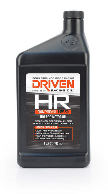 HR1 15w-50 Petroleum Oil JGP02106 Driven Racing Oil