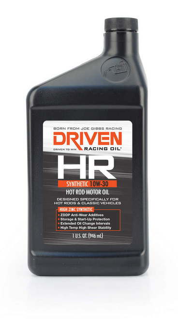 HR4 10w-30 Synthetic Oil JGP01506 Driven Racing Oil