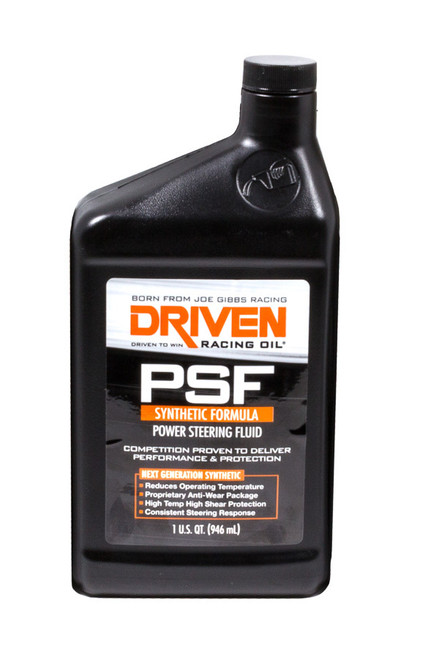 Power Steering Fluid Synthetic JGP01306 Driven Racing Oil
